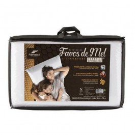 Imagem - TRAVESSEIRO FIBRASCA 50X70 FAVOS DE MEL INTENSE D30 R.4898 cód: 97420