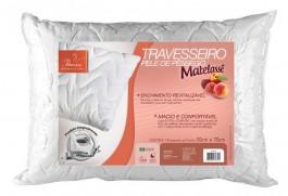 Imagem - TRAVESSEIRO FIBRASCA 50X70 PELE DE PESSEGO MATELASSE R.4339 cód: 103055