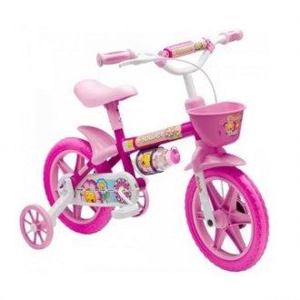 Bicicleta Cairu Flowers Lilly Aro 12 Fem Inf