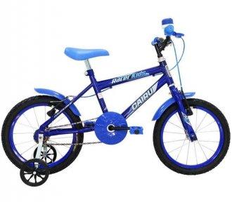 Bicicleta Infantil Cairu Aro 16 Racer Kids Azul
