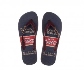 Chinelo Foutains Coca Cola