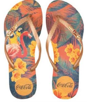 Imagem - Coca Cola Chinelo Tropical Summer
