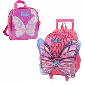 Kit Mochila + Lancheira Barbie