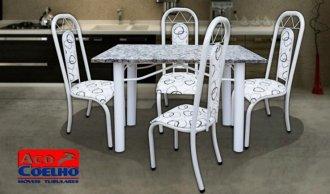 Mesa Roma 4 cadeiras