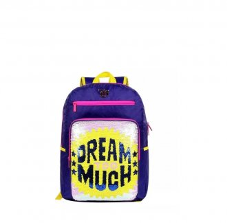 Mochila Capricho Dream Too Much Lantejoulas