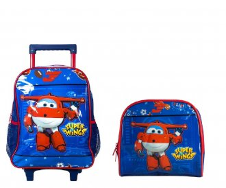 kit Mochilete + Lancheira Super Wings
