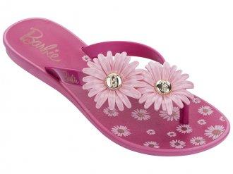 Imagem - Rasteirinha Barbie Flowers
