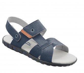 Sandália Papete pé Com pé