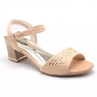 Sandália Salto Comfort Flex