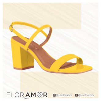 Sandália Salto Floramor