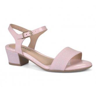 Sandália Salto Pink Cats