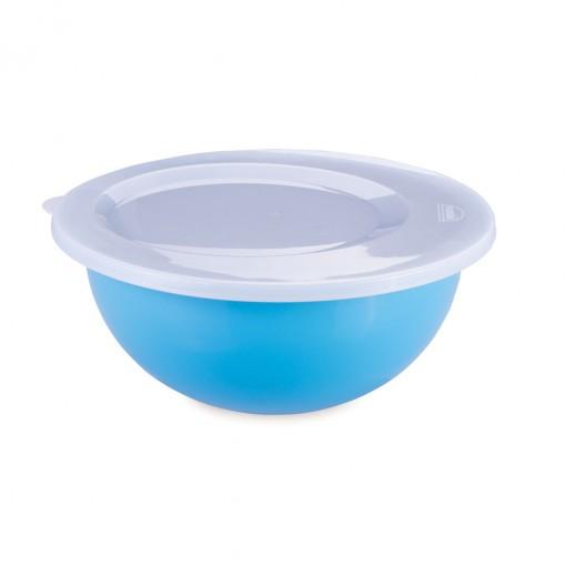 Tigela de Plástico 5,2 L com Tampa Duo 360°