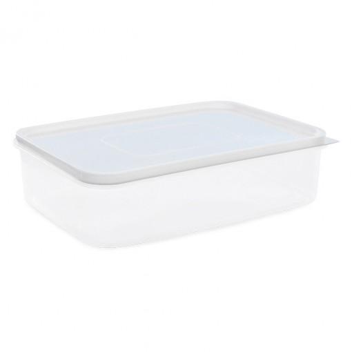 Pote de Plástico Retangular 5,6 L Freezer e Micro-ondas