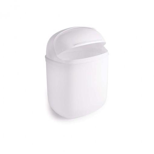 Lixeira de Plástico 5 L com Tampa Articulável Flip Top