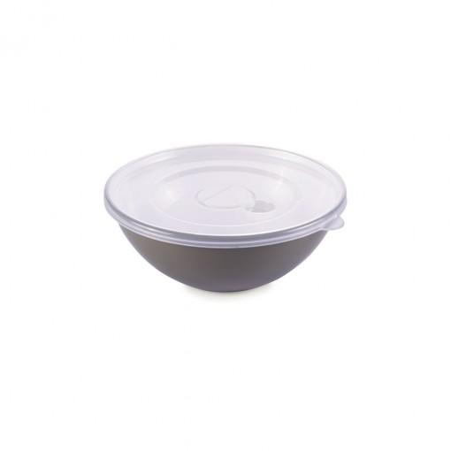 Tigela de Plástico 350 ml com Tampa e Válvula Duo 360°