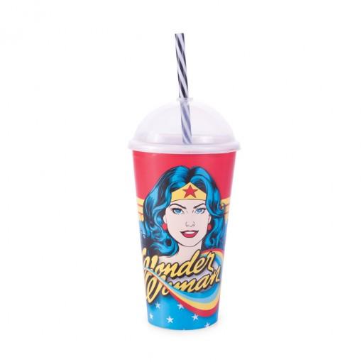 Copo Shake 500 ml | Mulher Maravilha