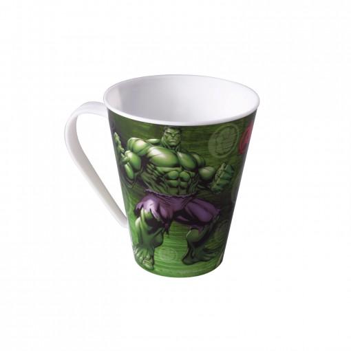Caneca de Plástico 360 ml Avengers Hulk