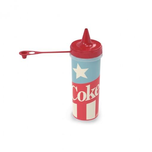 Bisnaga de Plástico 250 ml Coca Cola