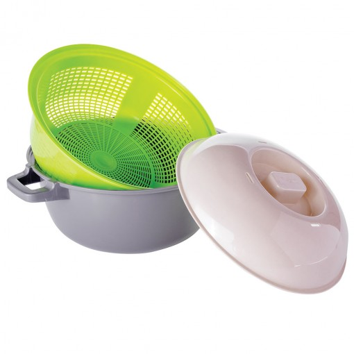 Caçarola de Plástico 2,6 L Micro-ondas