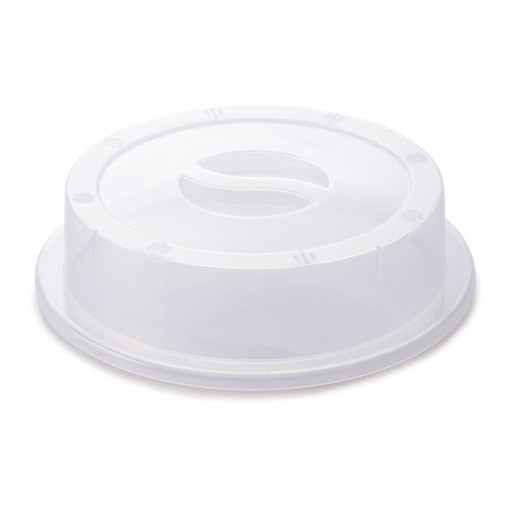 Tampa de Plástico para Pratos Micro-ondas
