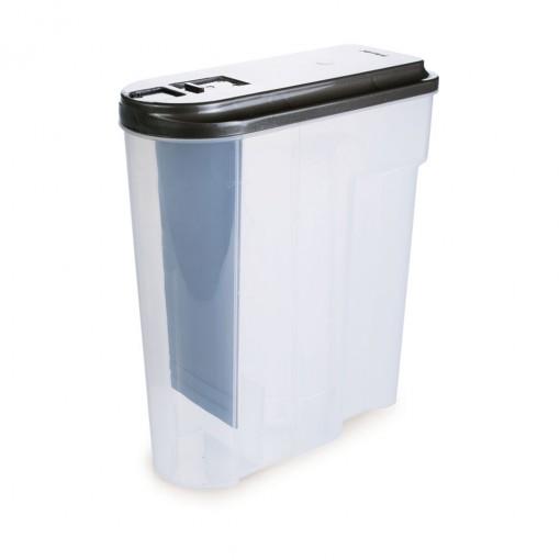 Porta Sabão em Pó de Plástico 1,8 Kg com Tampa e Dosador