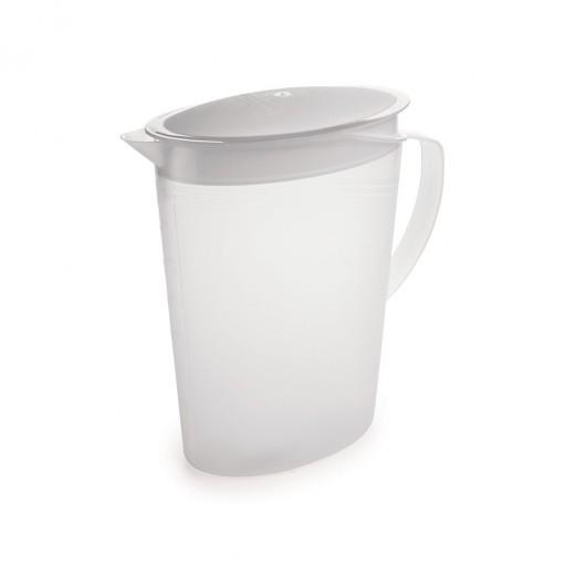 Jarra de Plástico 2 L com Tampa Articulável