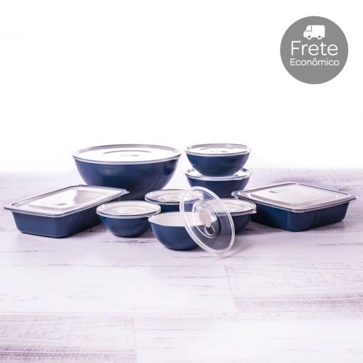 Kit de Potes - 9 Peças | Duo 360°