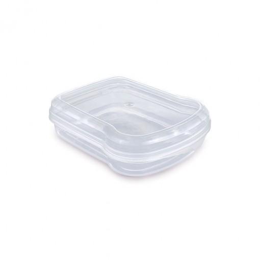Sanduicheira de Plástico com Tampa Fixa