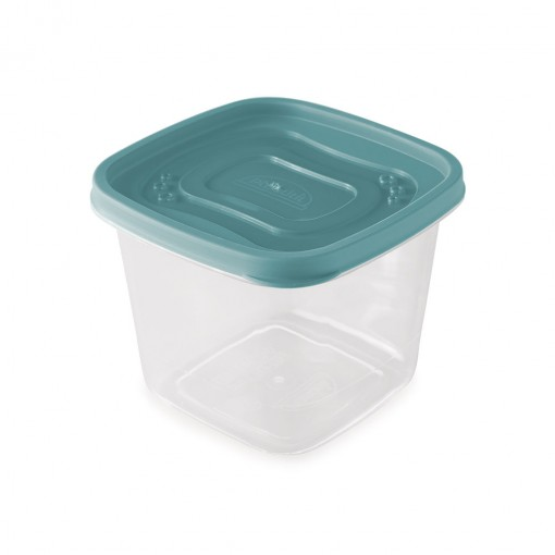 Pote de Plástico Quadrado 1,2 L Clic