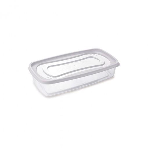 Pote de Plástico Retangular 1,43 Clic