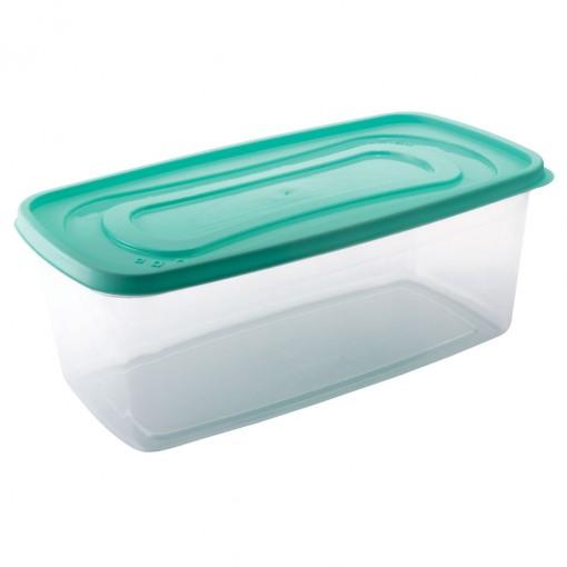 Pote de Plástico Retangular 3 L Clic
