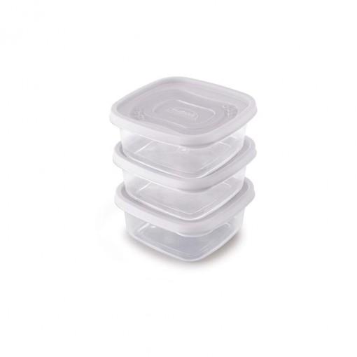 Conjunto de Potes 580 ml - 3 Unidades | Clic