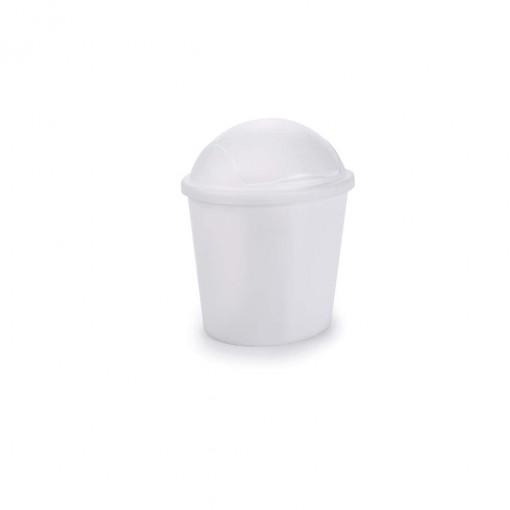 Lixeira de Plástico 2,6 L com Tampa Articulável Flip