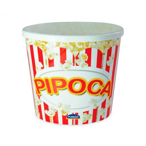 Pote de Plástico 2,1 L Pipoca