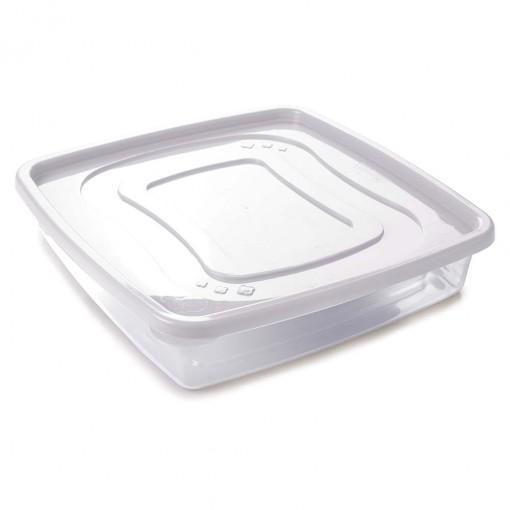 Pote de Plástico Quadrado 3,2 L Clic