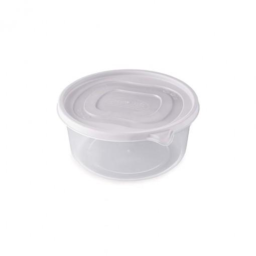 Pote de Plástico Redondo 1,4 L Clic