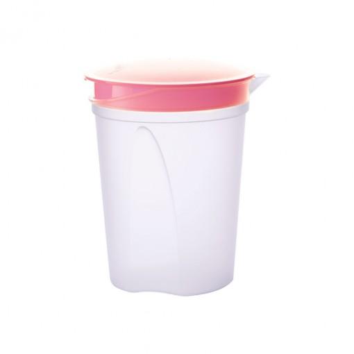 Garrafa de Plástico 1,2 L com Tampa Articulável