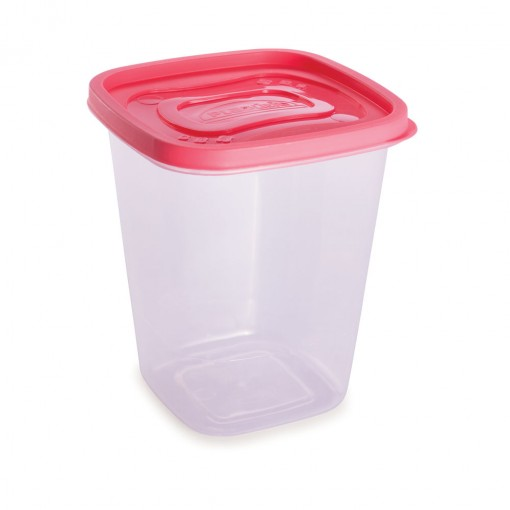 Pote de Plástico Quadrado 1,7 L Clic