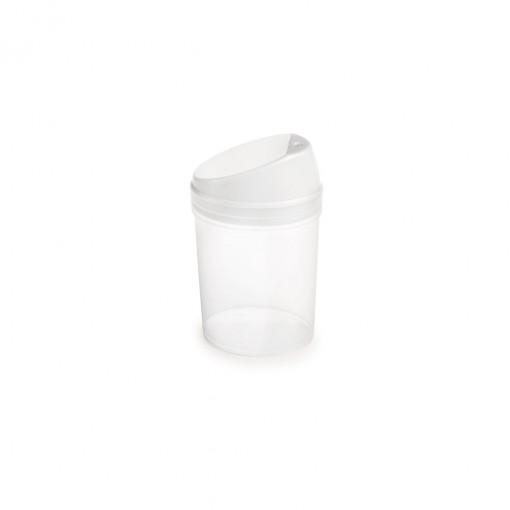 Paliteiro de Plástico com Tampa Encaixável