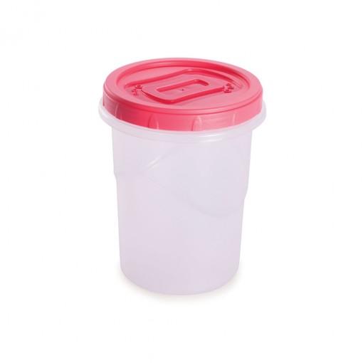 Pote de Plástico Redondo 1 L Rosca