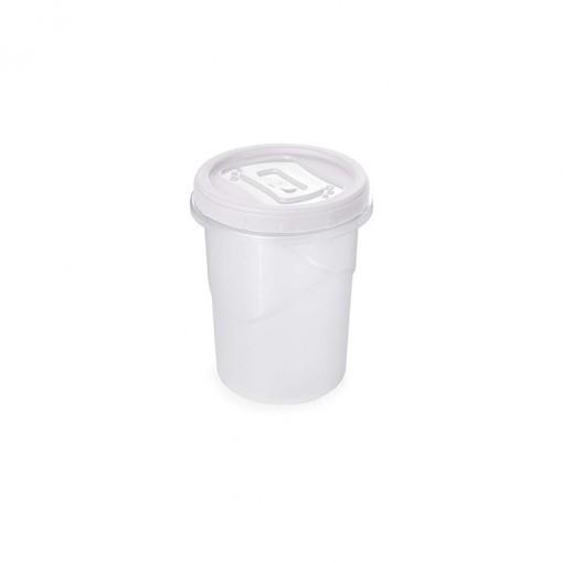Pote de Plástico Redondo 550 ml Rosca
