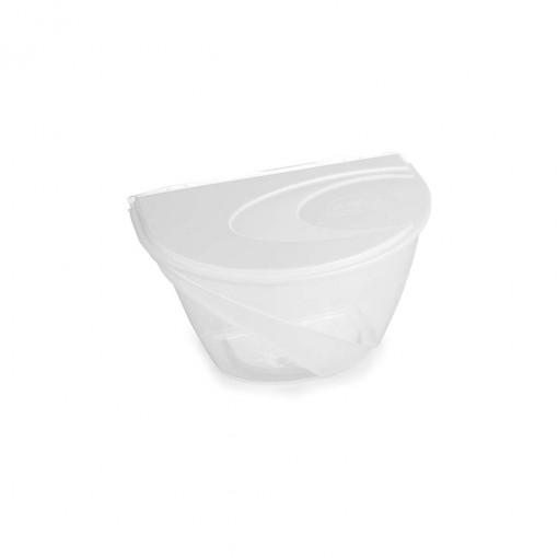 Saleiro de Plástico com Tampa Encaixável 1 Kg