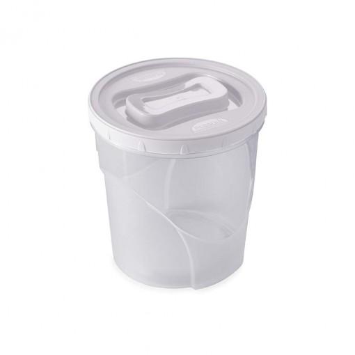Pote de Plástico Redondo 3,2 L Rosca