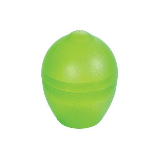 Pote de Plástico com Tampa Encaixável em Formato de Limão
