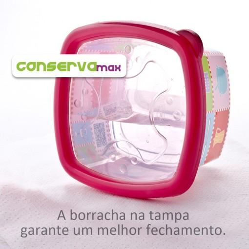 Pote 480 ml | Patchwork - Conservamax