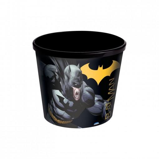 Pote de Plástico 2,1 L Pipoca Batman