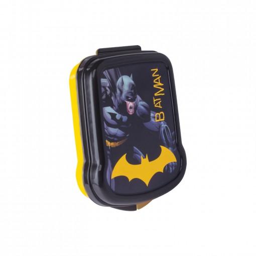 Sanduicheira de Plástico com Tampa Fixa Batman