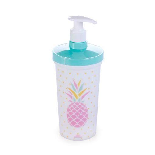 Porta Detergente de Plástico 540 ml com Válvula Melancia