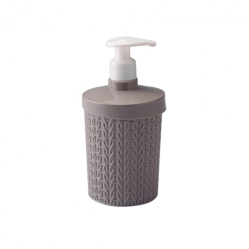 Porta Sabonete Líquido de Plástico 360 ml Trama