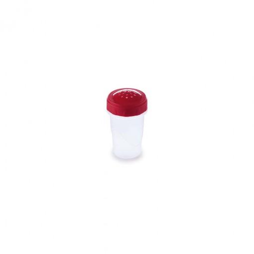Saleiro de Plástico com Tampa Rosca Clic